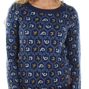 Tipsy Elves Dreidel Sweater - Womens L